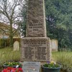 Necton War memorial