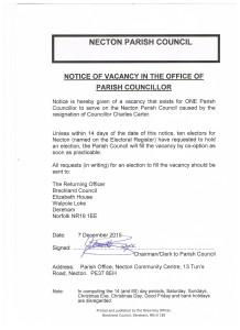 vacancy C Carter