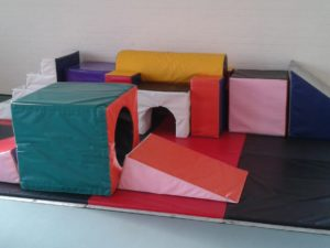 Just one of the activities available for our toddlers to enjoy.