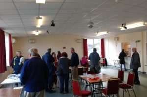 A lively turnout for Necton's Open Day.